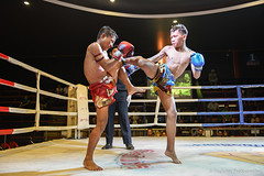 High Kick of MuayThai (pitchmix) Tags: muaythai fight high kick people boxing thai thailand