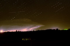 Lit Thunderstorm Anvil_composite10 (northern_nights) Tags: composite lightning thunderstorm coloradothunderstorm cheyenne wyoming sky night star startrails clouds silhouettes nikkor85mmf14 nikond7000 100v10f stacked