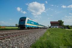ALEX - BUCHLOE (Giovanni Grasso 71) Tags: er20 br223 siemens nikon d610 allgu allgbahn locomotiva diesel buchloe immenstadt lindau