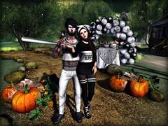 Smashing Pumpkins (TILLY THIRDBORN (Tilly Arun)) Tags: dstyle truth truthhair aphrodite halloween pumpkin pumpkins dura steinwerk badunicorn baseballbat deliriumstyle