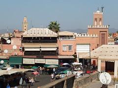 Place Jemaa el-Fna (  ), Marrakech () (twiga_swala) Tags: place jemaa elfna    marrakech  square medina mdina old town maroc morocco plaza marruecos unesco world heritage patrimoine mondial patrimonio humanidad central market