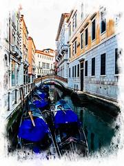Venecia, Venice Gondolas 006 (www.ignaciolinares.com) Tags: venecia venice venezia gondola canales sanmarcos feniche campanile ilduomo eldoge vaporetto veneto italia