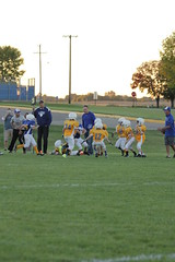 1422 (bubbaonthenet) Tags: 09292016 game stma community 4th grade youth football team 2 5 education tackle 4 blue vs 3 gold