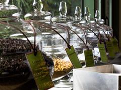 Arty tea jars (chrisverweyphotography) Tags: tea perspective boke canon