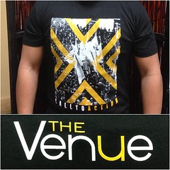 "Be the first to get your hands on the first batch of #VenueSwag tomorrow night!  Only $15, spread the word. • <a style=""font-size:0.8em;"" href=""http://www.flickr.com/photos/86277824@N05/8451397737/"" target=""_blank"">View on Flickr</a>"