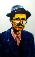 crumb (forthvalley) Tags: art robertcrumb crumb portraitpainting