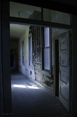 Morning Light (Greatest Paka Photography) Tags: california light abandoned dark decay prison forgotten desolate wards thecastle inmates ione prestoncastle reformschool adobelabs pixelbender
