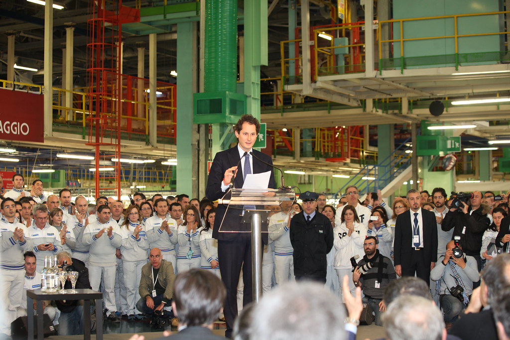 John Elkann announces investment plans in Melfi