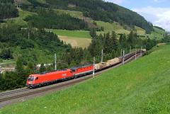 2009.07.11 | 1216 004 | Matrei Am Brenner (Peti91) Tags: summer alps train austria am mixed sommer brenner zug freight ausztria 004 matre gter nyr 1216 tehervonat brennerbahn