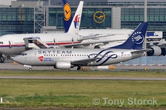 OK-XGE (bwi2muc) Tags: plane airplane flying aircraft boeing fra 737 csa czechairlines 737500 skyteam specialcolors specialscheme okxge skyteamalliance skyteamcolors