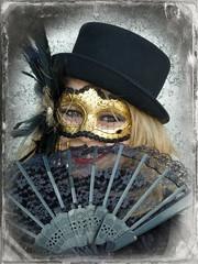 carnivalDag (GrfxDziner) Tags: carnival woman fan dc model mask lace masquerade mardigras daguerreotype dcmemorialfoundation picmonkey