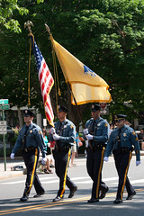 CO164 Police Flag Bearers (listentoreason) Tags: usa holiday america canon newjersey unitedstates symbol flag favorites police americanflag places event princeton redwhiteandblue starsandstripes memorialday starspangledbanner profession oldglory score35 ef28135mmf3556isusm