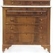 123. American Classical Marble Top Chest