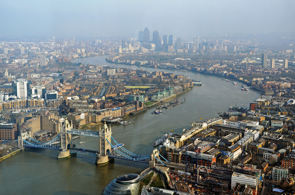 The Thames from the Shard by [Duncan], on Flickr