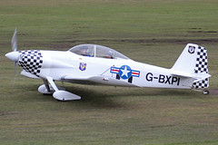 Vans RV-4 G-BXPI (QSY on-route) Tags: city manchester airport 4 vans barton rv pfa egcb gbxpi 24022013