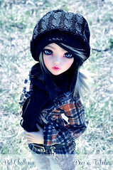 BJD Challenge - Day10: Winter (Eludys) Tags: doll chloe bjd fairyland msd mnf minifee eludys