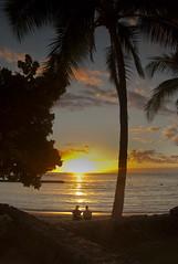 Waikiki sunset - Explored 25-02-2013 N0. 45, Thanks! (jimj0will) Tags: ocean trees friends sunset sea sky usa sun beach water lines america palms hawaii golden chat waves state waikiki oahu framed silhouettes talk lovers explore frame hi honolulu ripples goldensunset odt kapahulu explored talkng jimj0will jimjowill