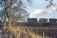 M001-04418.jpg (Colin Garratt) Tags: uk railroad england english industry train industrial britain engine railway alnwick northumberland british locomotive 1973 saddletank no45 hunsletausterity 060st britishrailwaysexchangesidings shilbottlecolliery loadedwagons