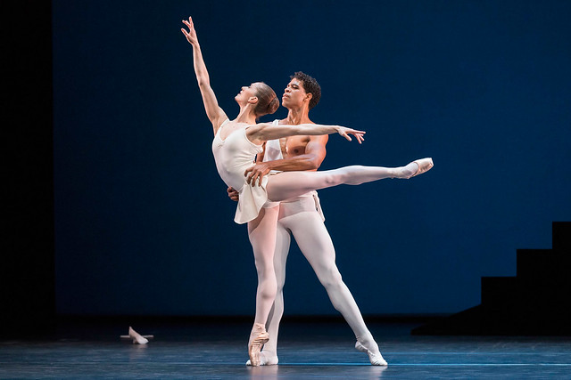 Marianela Nunez and Carlos Acosta in Apollo ©ROH/Johan Persson, 2013