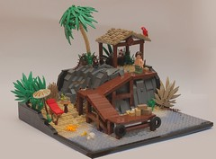 Tropical Paradise (Brick Vader) Tags: lego tropical 29 moc paradies mocathalon