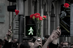 Protest (Nelson Silva) Tags: protest porto redcarnation