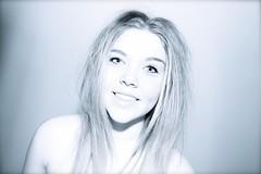 always smile. (Georgina Smith Photography) Tags: blue white black eye g