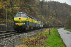 5515+5531, Esneux (RobbyH83) Tags: 55 nmbs blogistics