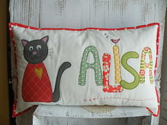 (monaw2008) Tags: bird cat heart handmade name pillow fabric applique cushion monaw monaw2008