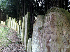 Gravestones, St Baglan's Church (Fragglehound) Tags: church graveyard stone port carved memorial tombstone gravestone churchyard talbot inscription porttalbot baglan