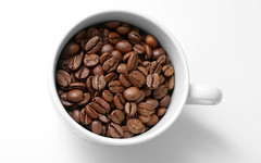 Coffee Beans Cup (jkmelb) Tags: morning italy food brown white black color cup coffee closeup bar start cuisine java cafe beans italian energy wake day break power flavor drink background grain meeting ground columbia seeds full business smell mug espresso leisure taste pause cappuccino simple coffe brew addiction isolated roasted aroma nutrition boost stimulant brewed