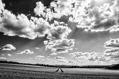 Parallel Lines (Andy_Goodridge) Tags: blackandwhite bw clouds landscape mono nikon scenery d90 18105mm silverefexpro