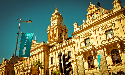 Samsung Livery at Cape Town City Hall