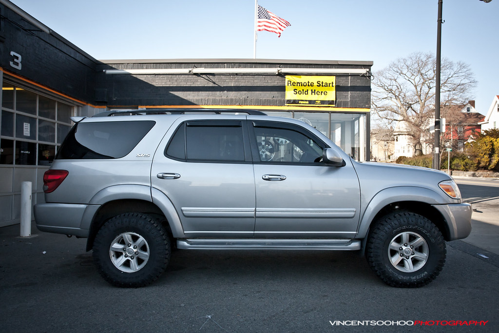 2007 Toyota Sequoia Lifted