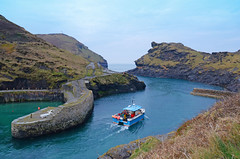 Boscastle harbour (Baz Richardson (trying to catch up!)) Tags: sea coast cornwall cliffs rivers streams fishingboats harbours boscastle cornishharbours