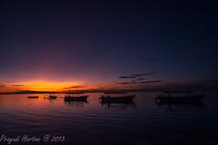 Ready to Start the Day (Prayudi Hartono) Tags: sky bali sunrise boat twilight sanur d800