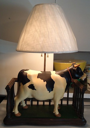 Milky The Marvelous Milking Cow Lamp