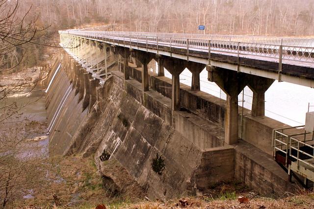 Great Falls Dam and Bridge - Rock Island, TN