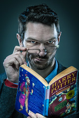 Harry Potter older (Ithe) Tags: portrait studio harrypotter softbox homestudio hairlight strobist