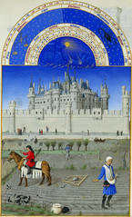 October (petrus.agricola) Tags: les de berry medieval muse illuminated chateau manuscript trs duc chantilly frres riches heures cond limbourg