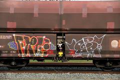 graffiti (wojofoto) Tags: amsterdam train graffiti trein traingraffiti cargotrain grei wojofoto fraighttraingraffiti