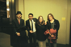 Neither of the people in the middle of the picture like this photo, however we are big fans of the folks in it (theBEERWOLF) Tags: county nyc march fuji manhattan henry watts lower aisling ilford 19th clerk connolly nautra 2013 400c