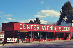 Center Avenue Slice (Hi-Fi Fotos) Tags: building sign shop nikon pittsburgh north center hills pizza slice avenue d5000