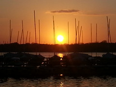 White Rock Lake Dallas,Texas (Ibrahim Yousif) Tags: sunset usa white lake nature rock america evening dallas spring picnic texas         flickrandroidapp:filter=none