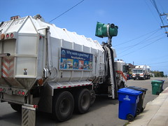Environmental Services (Scott (tm242)) Tags: trash truck garbage waste refuse recycle recycling