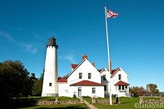 MI LkSuperior Point Iroquois Lighthouse-3440 (Jan Davis Ruthig) Tags: lighthouses michigan upperpeninsula beacon lakesuperior 2011