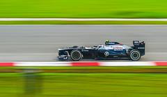 2013 F1 Sepang International Circuit: Race day - 24th Mac 2013 (Hafidz Abdul Kadir) Tags: cars speed tracks f1 racing formulaone malaysia slowshutter panning highspeed selangor sic sepanginternationalcircuit