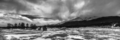 Spring Storm (Bryce Bradford) Tags: snow storm mountains weather landscape spring nikon highway colorado rocky front twinpeaks longspeak range f28 d800 peaktopeak 14mm mountmeeker rokinon