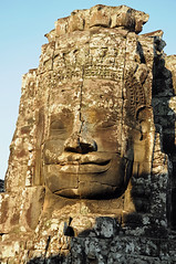 Bayon Smile (Oliver J Davis Photography (ollygringo)) Tags: travel heritage history archaeology monument architecture buildings temple construction ancienthistory nikon ruins cambodia southeastasia khmer towers unescoworldheritagesite worldheritagesite civilization siemreap angkor thebayon ancientcivilization archeology civilisation worldheritage bayon angkorthom d90 2013 ancientcivilisation travelnikon oliverdavisphotography oliverjdavisphotography