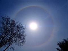 Halo pasqual (PanilBrune) Tags: sky canada montral montreal ciel cielo sundog meteorology parhelia mtorologie meteorologia montralqubec montrealquebec meteorologie parhlie parlie almicantarat almucantarat