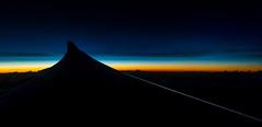 a slice of sunrise (Pedro Moura Pinheiro) Tags: colors sunrise airplane wide wing atlantic airbus a330 s100 pedromourapinheiro